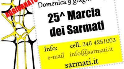 25^ Marcia dei Sarmati – 9 giugno 2019